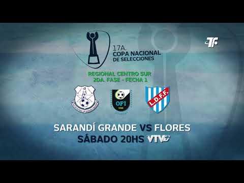 2da Fase - Fecha 1 - Sarandí Grande vs Flores - Regional Centro Sur