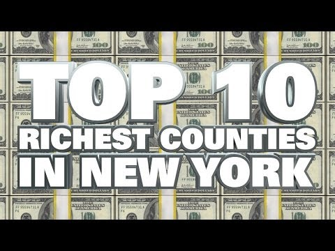 10 Richest counties in New York State 2014