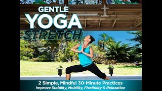 Gentle Yoga Stretch Preview Clip - This Program is Now Available on DVD and digital!