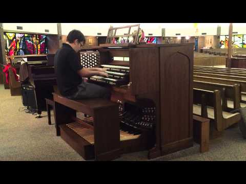 Holy,Holy,Holy on Allen Organ