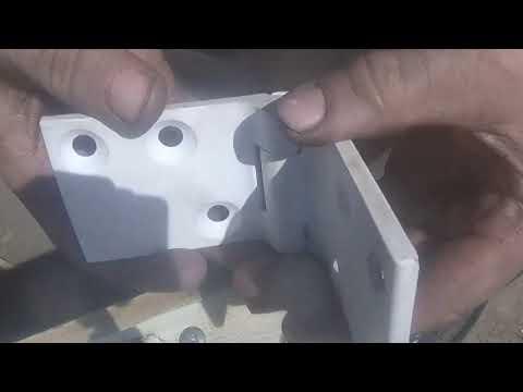 replacing a classic beetle door hinge