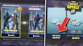 FORTNITE-SEASON 4 BATTLE PASS FREE!! 100% FUNCTIONAL