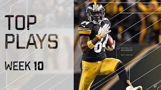 Top Plays (Week 10) | NFL