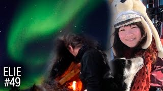 Northern Lights Catching, Making a fire, Pet husky in Sweden #49 To...