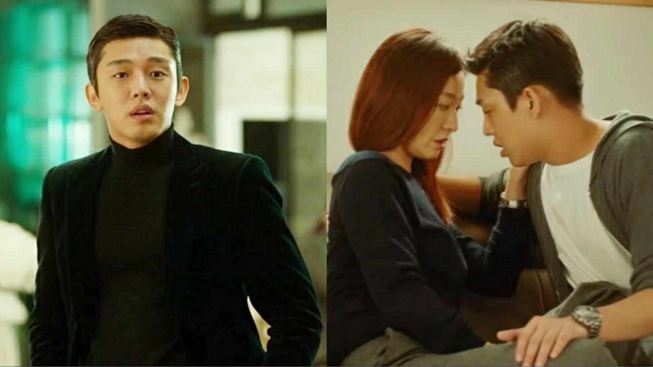 Like For Likes | Yoo Ah-In & Lee Mi-Yeon Kissing scene ...