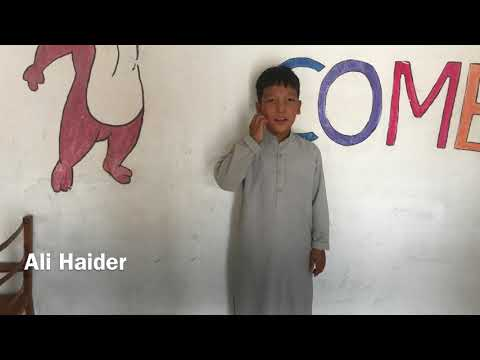 Madina Academy:Parts of body explained by our cute students
