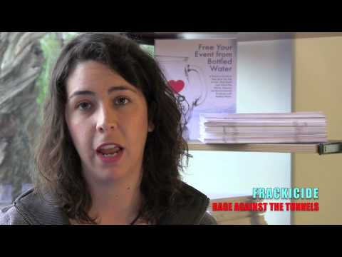 """Frackicide"" Alexandra Nagy, Food & Water Watch"
