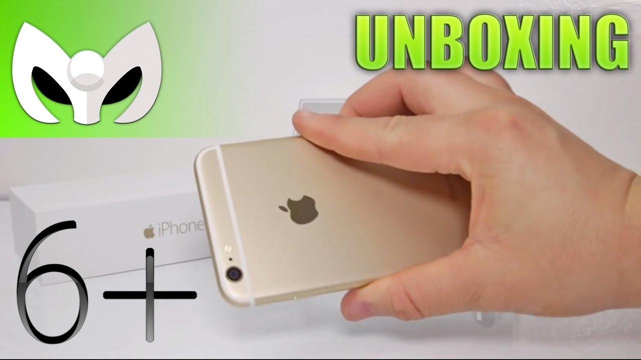 ee834d50587 Unboxing iPhone 6 Plus DORADO (Grandes Diferencias al iPhone 6 ...