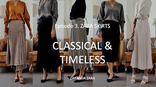 [ZARA] SKIRTS. Part 3.Timeless…