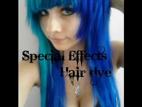 special effects hair dye youtube