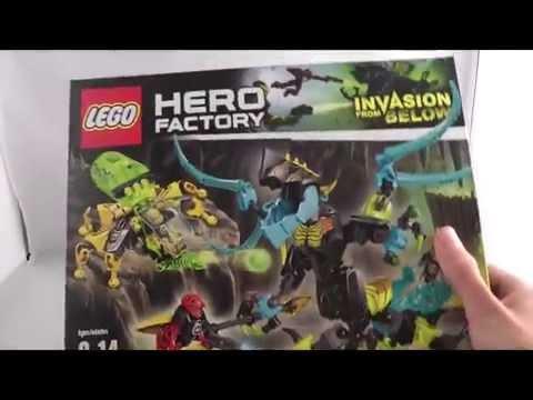 LEGO Hero Factory 2014 Review: QUEEN BEAST VS Furno, Stormer & Evo 44029!