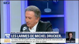 Michel Drucker explique son émotion hier soir lors de l'hommage à Johnny Hallyday
