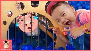 Old Mc Donald Had A Farm | Song For Children | Baby Playground | Nursery Rhymes For Kids 동물 친구들 동요