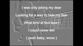I Was Only Joking ( Karaoke )