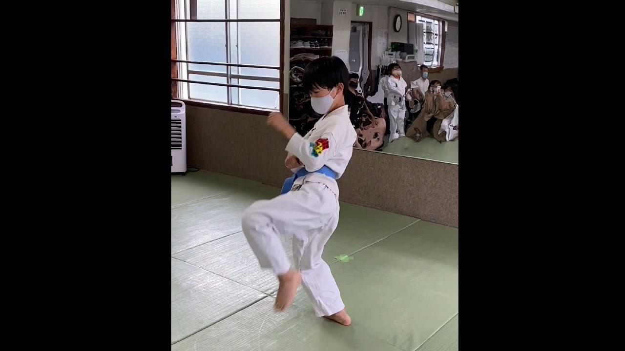 紺・水色帯の部 佐々木彩翔