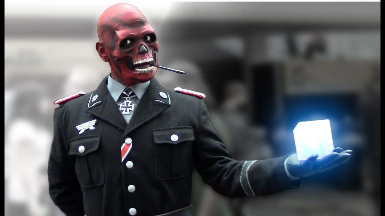 Awesome red skull hydra cosplay costume youtube