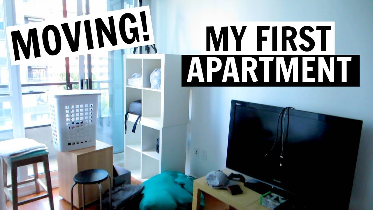 MOVING INTO MY FIRST APARTMENT IN TORONTO!! - YouTube