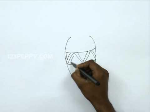 How To Draw V For Vase Youtube