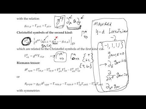 What is General Relativity? Lesson 10: CFREE notation and the covariant derivative