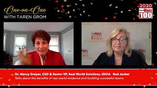 Nancy Dreyer, IQVIA – 2020 PharmaVOICE 100 Celebration
