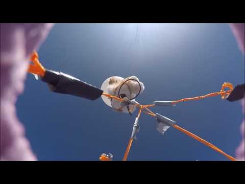 EMU PHY 420W High Altitude Balloon Footage - Top Camera