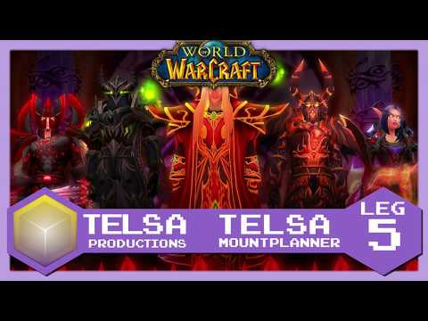 Telsa Mount Planner - Leg 5 Outland and Eastern Kingdoms