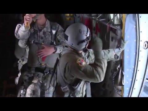 25th Infantry Division Airborne Jump