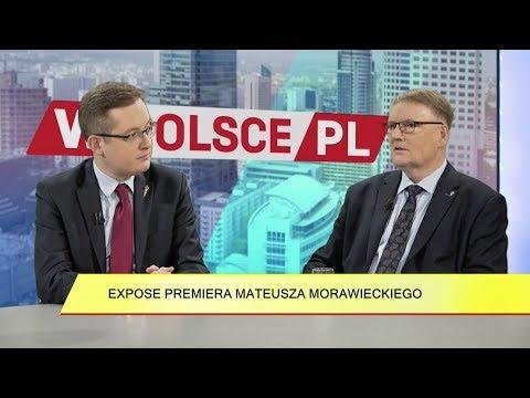 R. Winnicki, W. Bonkowski - Expose M. Morawieckiego; słowa Putina o katastrofie smoleńskiej
