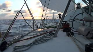 Zipper on the move  Ocean Crossing outremer 45  Mondelo to Barbados part1 Solo sailing
