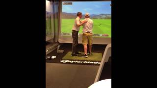 "Hank Haney Gives Lesson to Danny ""Hop"" Waggoner"