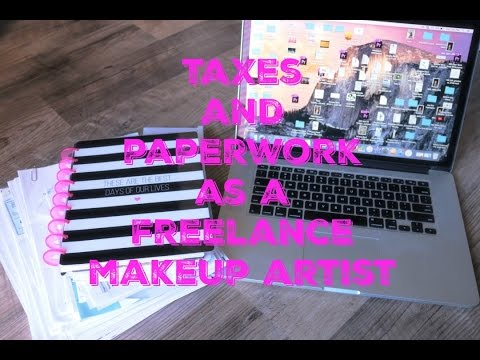 Makeup Artist Series | Episode #11 | Taxes And Other Fun Paperwork | Mandy Davis MUA