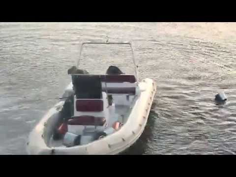 взрыв гранаты для лодке