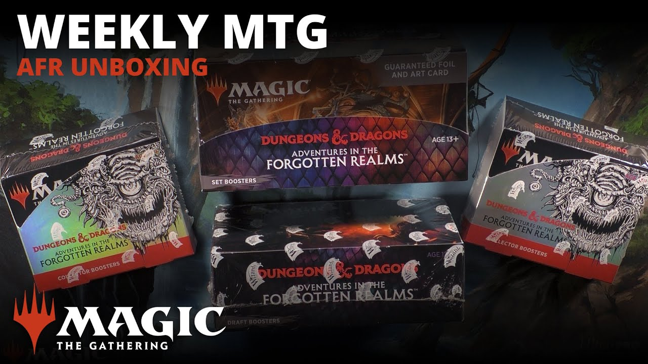 Weekly MTG | AFR Unboxing