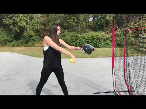 Softball Pitching: Slow Motion Snaps