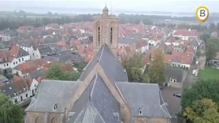 Elburg vanuit de lucht