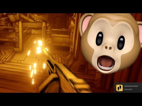 TOMMY GUN!! KILLING THE PROJECTIONIST!! | Bendy And The Ink Machine Chapter 3 Remastered