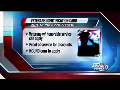 VA Announces New Veterans Identification Cards