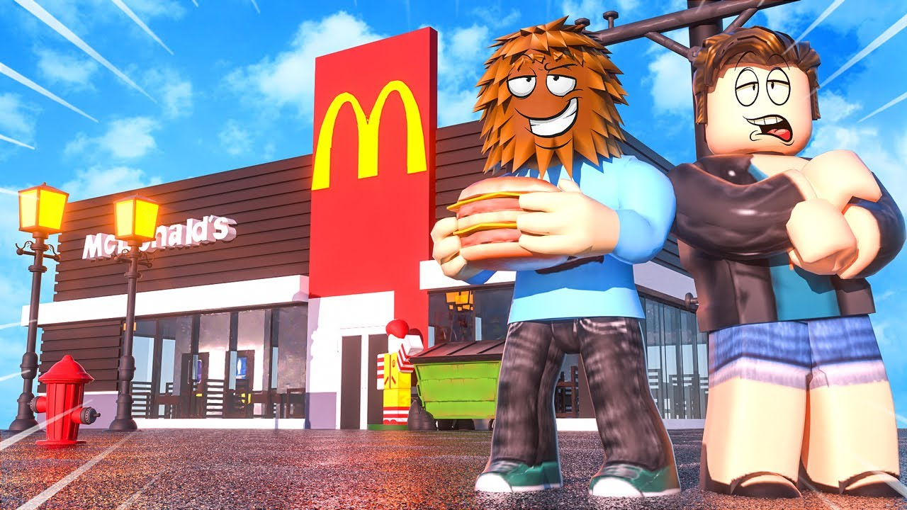 We Made Our Own McDonalds In Roblox