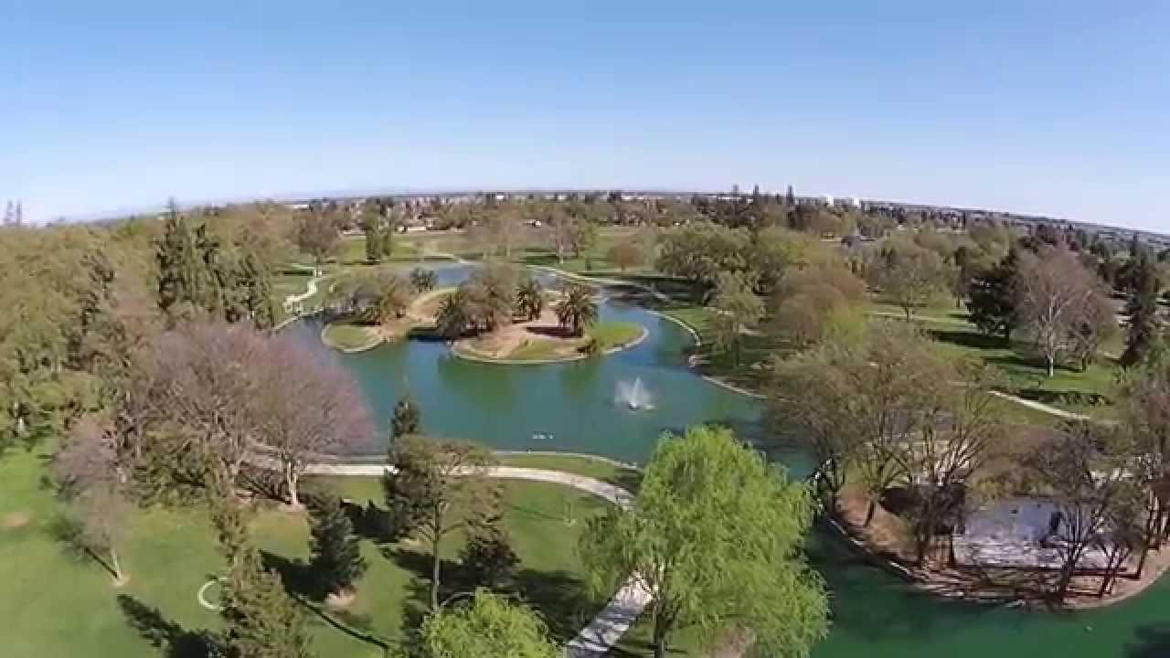 Elk grove regional park pond 360 view youtube for Koi pond quezon city