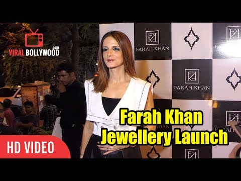 Sussanne Khan At Farah Khan Fine Jewellery Launch | First Ever Monogram Collection