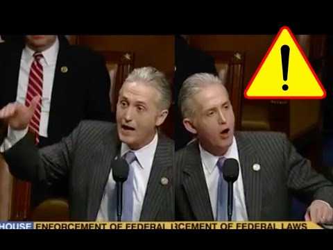 Trey Gowdy Screams About Obama for 5 Minutes and Gets Standing Ovation!