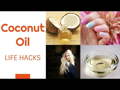 Coconut Oil Hacks/Uses and Benefits of Coconut Oil- Part 1