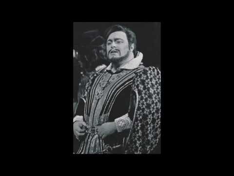 """Luciano Pavarotti """"A te, o cara"""" I Puritani"""