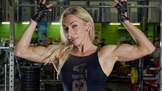 Елена Юнина на Bodybuilding Illustrated