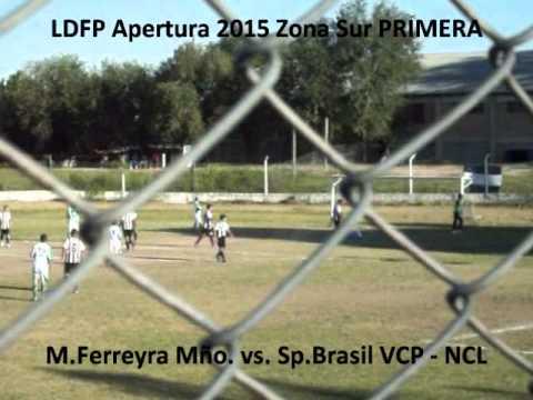 LDFP 2015 M Ferreyra Mño  vs  Sp Brasil VCP PRIMERA