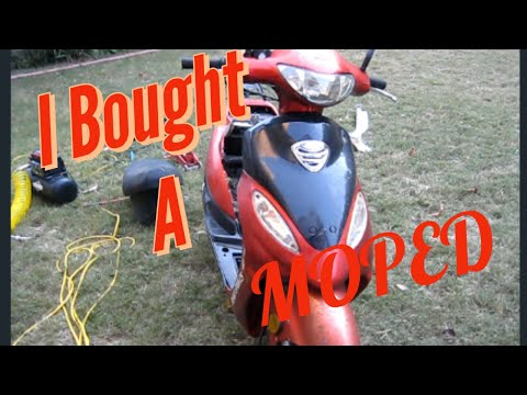 I Bought A Moped