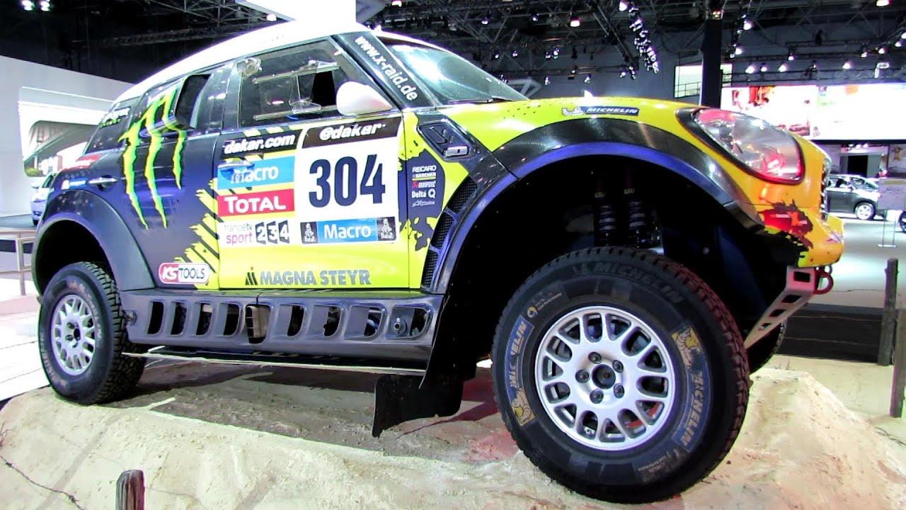 2014 Mini Cooper All 4 Racing Rally Car - Paris Dakar Winner ...