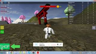 Roblox as it gets with endless chi in Ninja simulator