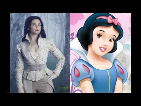 Download Once Upon A Time Characters And Their Respective Disney Counterparts (Once VS Disney 2)