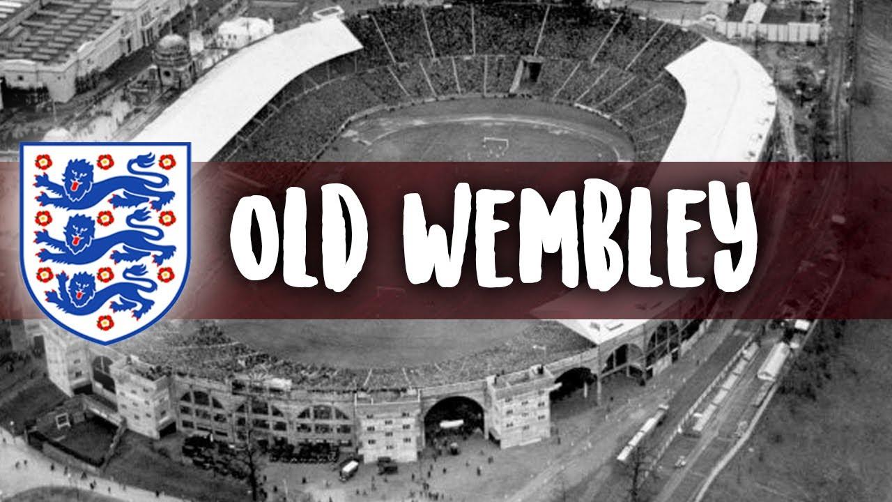 Kathedrale des Weltfußballs: Old Wembley, the Empire ...